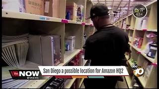 San Diego a possible location for Amazon HQ2 - Video