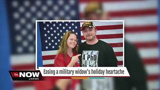 Easing a military widow's holiday heartache - Video