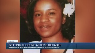 Man describes finding mom more than 3 decades after she went missing in Detroit
