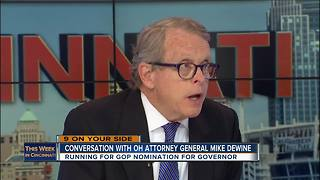 This Week in Cincinnati: Ohio Attorney General Mike DeWine on Local Government Fund - Video