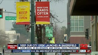 """""""Keep Our City Open"""" campaign launches in Bakersfield"""