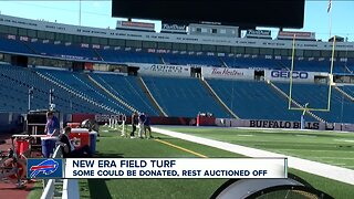 New Era Field turf could be auctioned off