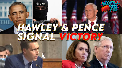 Pence Cancels Jan. 6 Trip To Israel, Hawley Agrees To Object, Pelosi & McConnel Move To Block