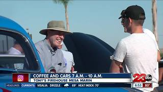 Coffee and Cars Sunday morning in NE Bakersfield