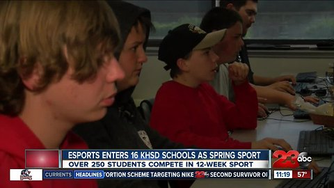ESports enters Kern High School District as Spring sport