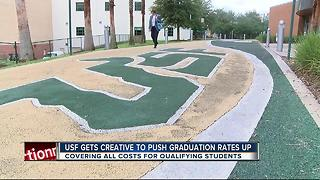 Pilot program aims to improve USF grad rates - Video