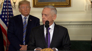 World Freaks Out Over James Mattis Resigning in Protest