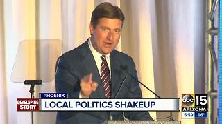 Phoenix Mayor Greg Stanton running for congress - Video