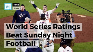 World Series Ratings Beat Sunday Night Football