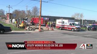 Police identify utility worker shot, killed in KC - Video