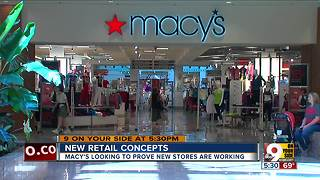 New retail concepts for Macy's