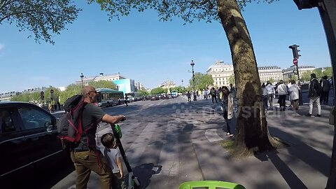 E-scooter riders bring chaos to the streets of Paris