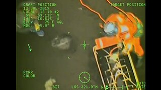 Coast Guard Rescues 3 Stranded on Alaska Beach