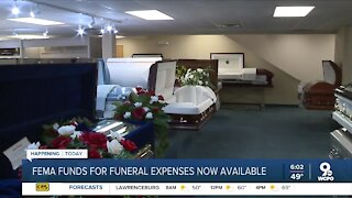 FEMA opens financial aid for COVID-19 funerals