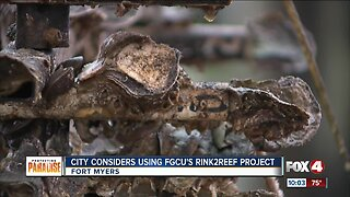 City of Fort Myers considers using FGCU's Rink2Reef Project