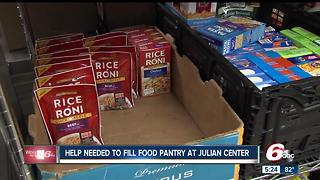 Help needed to fill pantry at Julian Center - Video