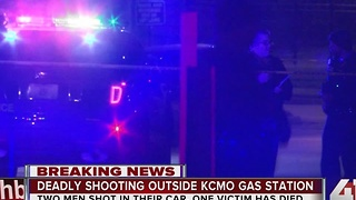 1 dead, 1 injured in double shooting at Phillips 66 station at Bannister and Drury - Video