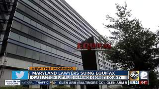 Maryland lawyers file suit in Equifax breach - Video