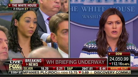 Sanders Issues Fiery 17 WORD Retort When Asked If WH Shares Rep. Adam Schiff's Obstruction of Justice Concerns