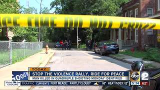 Stop the violence ride for peace aims to bring Baltimore community together - Video