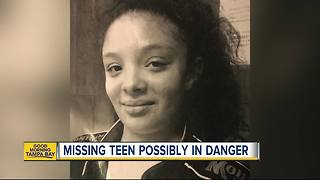 MISSING CHILD ALERT | Tampa Police search for 15-year-old girl last seen Monday morning - Video