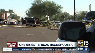 Man arrested in Peoria road rage shooting - Video