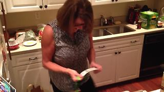 Seattle Seahawks superfan freaks out over Christmas tickets - Video