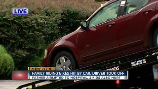 Hit-and-run accident in New Tampa