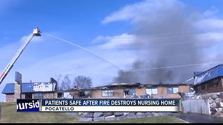 Pocatello nursing home is a total loss after fire - Video