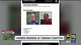 Hiker missing at Grand Canyon - Video