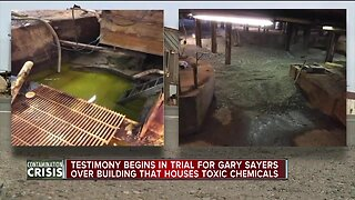 Testimony begins in trial for man who owns green ooze site