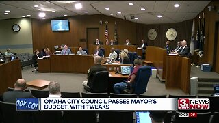 Omaha City Council passes mayor's budget, with tweaks