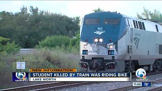 Student struck, killed by Amtrack train ID'd