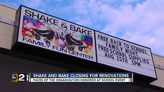 Shake and Bake set to close, faces of loved facility honored - Video