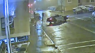 Man 'high as f**k' almost crashes into jail - Video