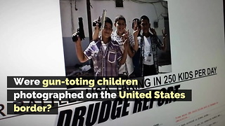 Were Gun-Toting Children Photographed on the United States Border?