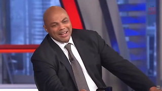 Shaq And Charles Barkley Have Hilarious Reaction To Postgame Altercation - Video