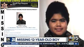 Have you seen him? MCSO looking for missing boy - Video