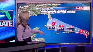 Hurricane Irma Update | Florida's Most Accurate Forecast with Shay Ryan on Monday at 6:30PM - Video