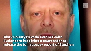 Coroner Defies Judge's Order to Release Las Vegas Shooter's Autopsy Results - Video