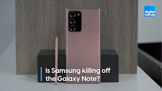 Is Samsung killing off the Galaxy Note?