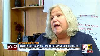 Butler County to sue opioid makers amid heroin crisis - Video