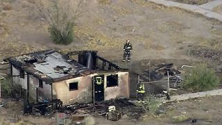 Vacant home catches fire again in North Las Vegas - Video