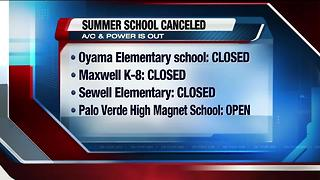 Heat causes TUSD summer school schedule changes - Video