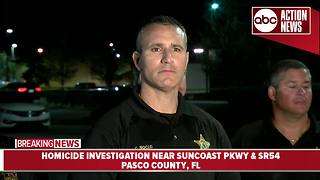 Pasco County Sheriff Chris Nocco updates homicide investigation - Video