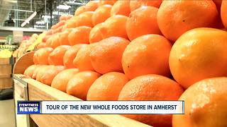 Bread, bacon and bocce: take a look inside the new Whole Foods in Amherst--6pm - Video
