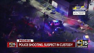 Peoria police officers involved in shooting after responding to armed robbery call