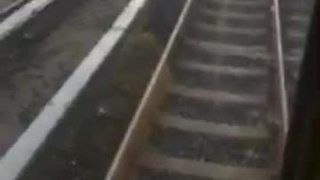 MTA Metro SubwayLink train leaves two cars on track - Video
