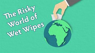 Wet wipes are wreaking havoc on our sewers! - Video