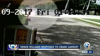 Venus Williams responds to crash lawsuit - Video